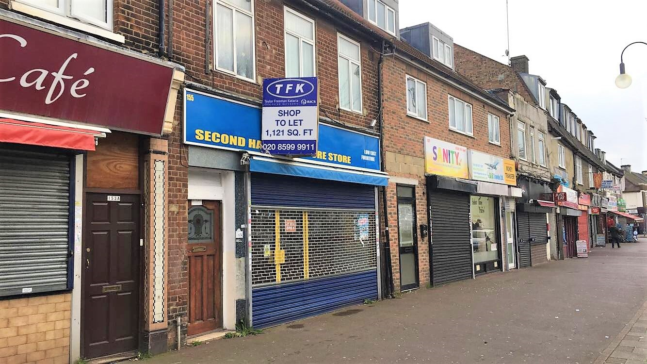 Retail premises in Dagenham let ABOVE market rent
